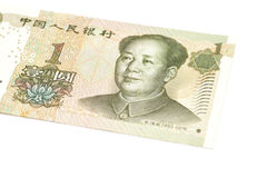 1 yuan chinese currency Royalty Free Stock Image