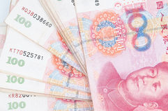 100 Yuan Stock Photo