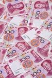 Yuan chinois Images libres de droits