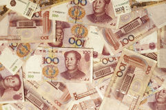 Yuan chinois Photos stock
