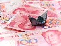 Yuan cinese Immagini Stock