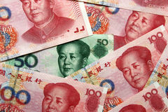Yuan cinese Immagine Stock Libera da Diritti