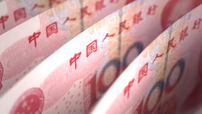 Yuan Close-up Stock Images