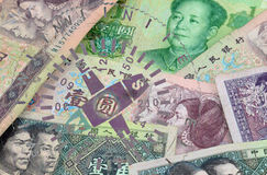 YUAN compass Royalty Free Stock Images