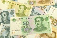 Yuan de la Chine Photos libres de droits