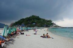 Yuan di Koh Nang, isola di yuan di Nang Fotografie Stock Libere da Diritti