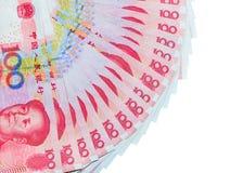 Yuan eller RMB, kinesisk valuta Fotografering för Bildbyråer
