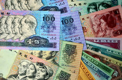 The yuan Royalty Free Stock Photo