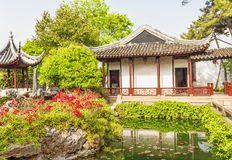 Yuan garden in Shanghai, China Stock Photo