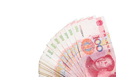 Yuan Note Stock Image