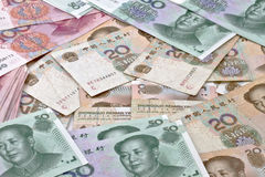 Yuan notes Royalty Free Stock Image