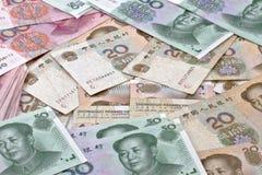 Yuan notes royalty free stock image