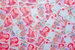 Yuan oder RMB, chinesische Währung Lizenzfreie Stockfotos