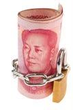 Yuan y castillo Imágenes de archivo libres de regalías