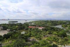 Yuanboyuan park przegapia Obrazy Royalty Free