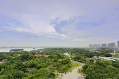 Yuanboyuan trädgården för expo för xiamen internationalträdgård Arkivbild