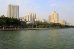 The yuandang lake Stock Photo