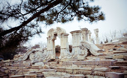 Yuanmingyuan, Old Summer Palace in Beijing Royalty Free Stock Photography