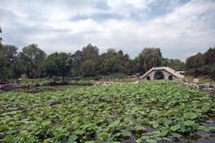 Yuanmingyuan Park, Beijing, China Stock Image
