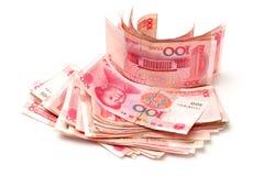 100 yuans Royalty-vrije Stock Foto