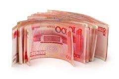 100 yuans Royalty-vrije Stock Foto's