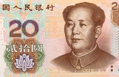 20 yuans Stock Foto