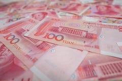100 yuans chinois Photographie stock libre de droits