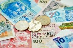 Yuans chinois d'argent de devise Photo stock
