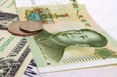 Yuans de Chinois de CNY Image stock