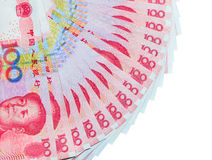 Yuans of RMB, Chinese Munt Stock Afbeelding