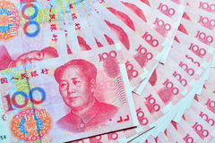 Yuans of RMB, Chinese Munt Stock Foto