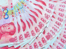 Yuans of RMB, Chinese Munt Stock Afbeeldingen