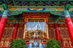 Yuantong Kunming tempel av Yunnan Fotografering för Bildbyråer