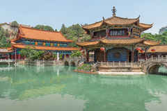 Yuantong Kunming Temple panorama, Kunming capital city of Yunnan. China Stock Images