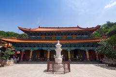 Yuantong Kunming Temple in sunny day, Kunming capital city of Yu Stock Image