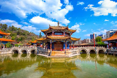 Yuantong Kunming Temple of Yunnan. Yuantong Kunming Temple of Yunnan, China Stock Photos