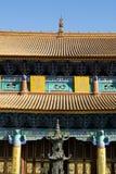 Yuantong Si Chinese temple. Closeup of Yuantong Si temple, Kunming, Yunnan, China Stock Photos