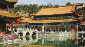 Yuantong tempel, Kunming, Kina Royaltyfria Foton