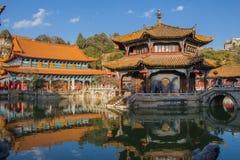 Yuantong Temple Yunan China Royalty Free Stock Images