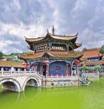 Yuantongtempel, Kunming, Yunnan-Provincie, China Stock Foto's