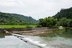 Yuanxi river stock image