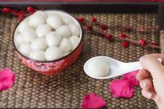 Yuanxiao delicioso fotografía de archivo libre de regalías
