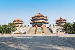 Yuanxuan Taoist Temple Guangzhou GuangDong, China. Front of Yuanxuan Taoist Temple Guangzhou GuangDong, China Stock Images