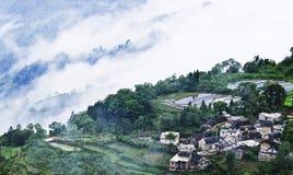 Yuanyang rice terrace Royalty Free Stock Photos