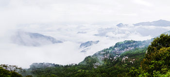 Yuanyang rice terrace. Territory of Yuanyang County is full of mountains, all terraces were built on the hillside,Yuanyang rice terrace located in Yuanyang Stock Photos