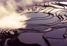 Yuanyang rice terraces Stock Photos