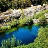 Yuba flod Arkivbild