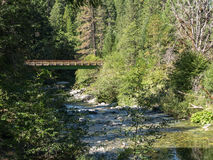 The Yuba River Royalty Free Stock Photos
