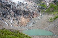 YUBENG, CHINE - 9 août 2014 : Lac ice au village de Yubeng un célèbre Images libres de droits