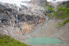 YUBENG, CHINE - 9 août 2014 : Lac ice au village de Yubeng un célèbre Image libre de droits
